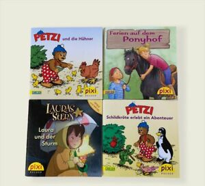 Pixi Bücher Auswahl Petzi Laura etc.