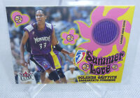 2002 Fleer Ultra WNBA Yolanda Griffith Summer Love Game Worn Warmups Relic Card