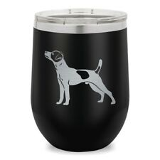 Wine Glass Tumbler, Jack Russell Terrier Dog