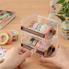 New Desktop Tape Dispenser Tape Cutter Tape Dispenser Roll Tape Holder Is