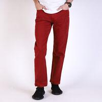 Levi's 514 Straight leg Rot Herren Jeans 29/30 W29 L30