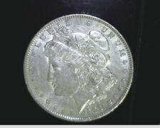 1889 $1 US Morgan Silver Dollar, Medium to High Grade, .7734 oz Slv, US-6529
