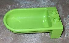 Lego Einrichtung Puppenhaus Bad Badewanne grün olive bathtub lime aus 10505 2770