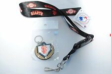 San Francisco Giants Lanyard & Home-Plate Keyring