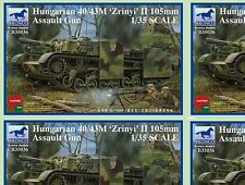 Bronco 1/35 Hungarian 40/43m 'Zrinyi' II 105mm assult Gun  #35036