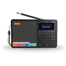 GTmedia D1 DAB+ Radio Stero Portable Digital AM/FM Receiver Alarm Clock 1.8Inch