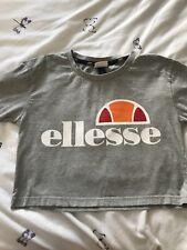 Ellesse Crop T Shirt Size 6 (teenager)