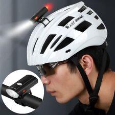 Bicycle headlight Helmet light USB Flashlight Waterproof USB Detachable