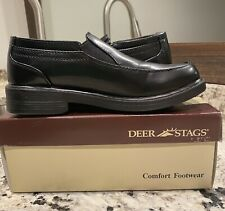 Boys Dress Shoes Deer Stags Brian 2.5 Wide New