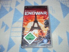 Tom Clancy 's endwar (Sony PSP, 2008) nuevo embalaje original
