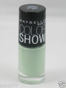 New Maybelline Color Show Nail Polish-320 Green with Envy