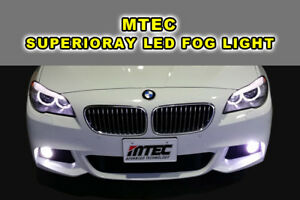MARUTA /MTEC Ver.2 CANBUS LED Fog Light H11 BMW F10 F11 528i 535i 535d 550i