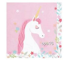 Unicorn..Party Napkins 20 PACK...Fantasy...Mystical...Magical...Dust