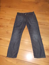 """ MARITHE ET FRANCOIS GIRBAUD  "" JEANS A FINES RAYURES  BOYFRIEND TAILLE 40/42"