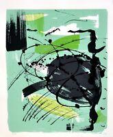 Veit Hofmann: Abstrakte Komposition. Original-Siebdruck, signiert/nummeriert