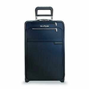 Briggs & Riley Baseline-Softside CX Expandable Carry-On Upright Luggage Navy ...