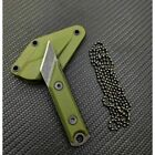 2PCS Knives Stainless Steel Camping Outdoor Mini Portable Carving Knife EDC Tool