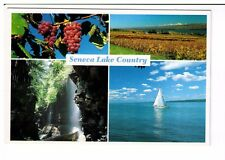 Postcard: Multiview - Seneca Lake Country, New York, USA