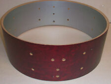 Gretsch USA Custom Drum Shell 6 Ply Snare 5x14 Satin Rosewood Broadkaster 8 Lug