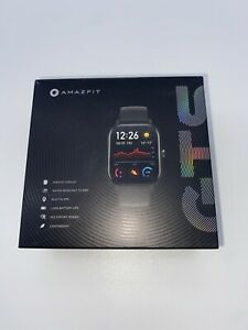 Amazfit GTS 43mm Smart Watch - Black - AMOLED Display, 12 Sports Modes!!!