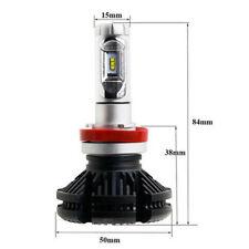 6500K 50W 12/24V Auto-Motorrad-Scheinwerfer-Nebel-Licht-wasserdichter 360° Beam