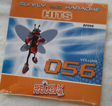 Karaoke cd+g disc Sunfly 80s Hits Vol 56, see Descript 15 tracks/artists