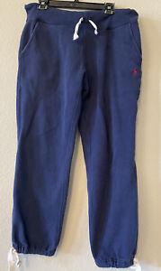 Polo Ralph Lauren Sweatpants/Track Pants Navy Blue Mens S Activewear