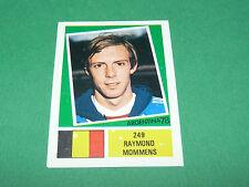 249 R. MOMMENS DIABLES BELGIË AGEDUCATIFS FOOTBALL ARGENTINA 78 WM 1978 PANINI