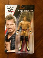 CHRIS JERICHO WWE Mattel Basic Series 75 Wrestling Action Figure Toy NEW