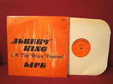 ALBERT KING AT THE BLUES FESTIVAL LIVE RARE CHICAGO BLUES PRIVATE PARRALL LABEL