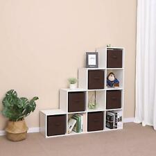 6 Pack Storage Cube Basket Fabric Drawers Best Cubby Organizer Box Bin Organizer