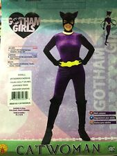 CATWOMAN ADULT COSTUME SIZE SMALL (6-9) GOTHAM GIRLS BATMAN HARLEY IVY