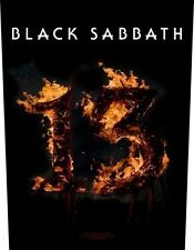 Black sabbath - 13 dos écusson backpatch