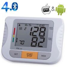 Bluetooth Fully Automatic Upper Arm Blood Pressure Monitor for IOS & Android MT