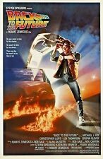 Back To The Future Movie Poster * Reprint * 13 x 19