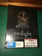 Twilight (DVD, 2009, 3-Disc Set) LIMITED COLLECTORS EDITION R4 Good