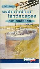 BRIAN RYDER PAINTING WATERCOLOUR LANDSCAPES WITH CONFIDENCE VHS VIDEO