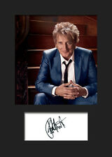 ROD STEWART #2 Signed Photo Print A5 Mounted Photo Print - FREE DELIVERY