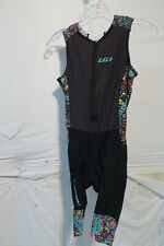 Louis Garneau Women's Pro Carbon Triathlon Suit Expressionist XL Retail $150