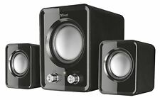 2.1 PC Speakers with Subwoofer Computer Laptop 12 W, USB Powered  Sound Stereo