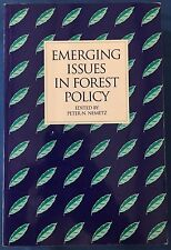 Emerging Issues In Forest Policy Environment Timber Forestry Sustainability Book