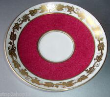 "Wedgwood Whitehall Powder Ruby Tea Saucer 5.75"" W3994 English Bone China"