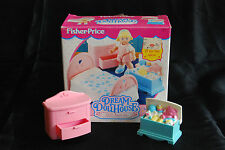 1994 Fisher Price Dream Dollhouse Girl's Room Set 4621 Incomplete furniture box