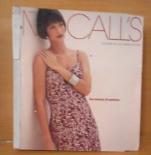 July-August 1994 McCalls Store Counter Sewing Pattern Catalog/Book Fashion