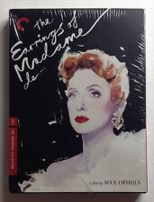 EARRINGS OF MADAME DE... Max Ophuls - Criterion NEW SEALED DVD!!