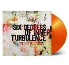 DREAM THEATER Six Degrees Of Inner Turbulence 2 x 180gm ORANGE Vinyl LP Mov NEW