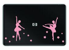 Ballet Dance Decal Sticker Apple Mac Book Air/Pro Dell Laptop Ballerina 13 15 17