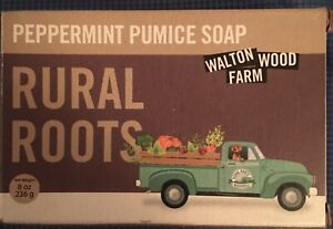 Peppermint Pumice soap Rural Roots Walton Wood Farm