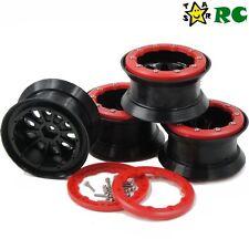 4pcs 2.2 beadlock wheels rims Fit 1/10 RC 4WD Axial LOSI HPI Tamiya crawler Tire