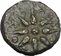 Kolone in Troas 350BC Authentic Ancient Rare Greek Coin Athena Star  i49725
